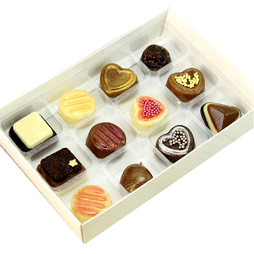 Chocolate Boxes with 12 Inserts
