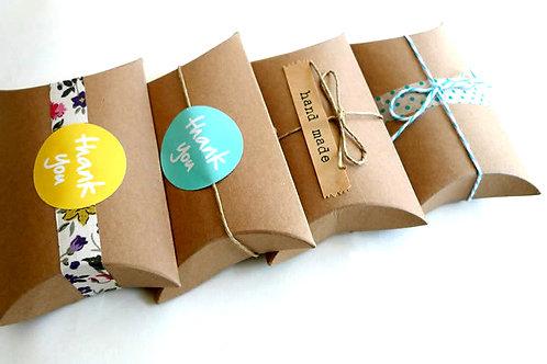 Pillow Type Kraft Boxes