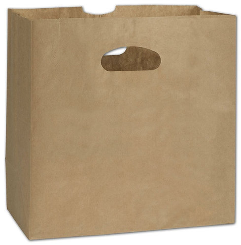 Brown Paper Bag Die Cut