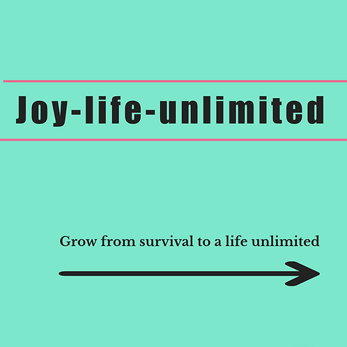 Joy - Life - Unlimited 6 week course