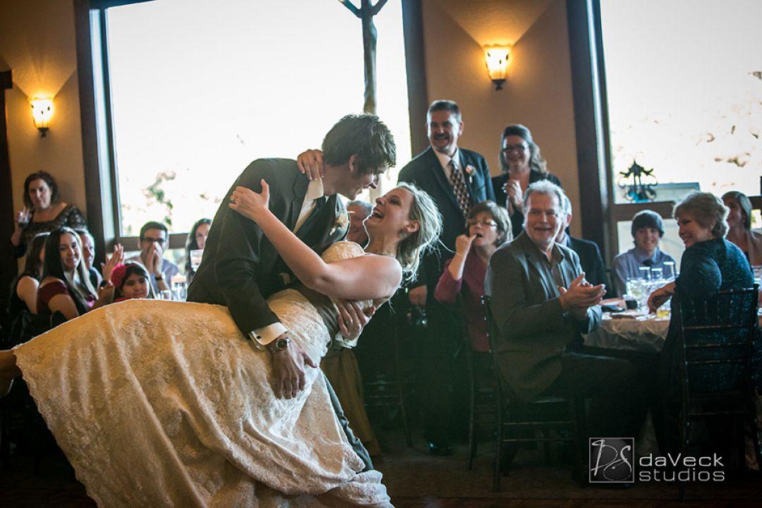 Dip your bride