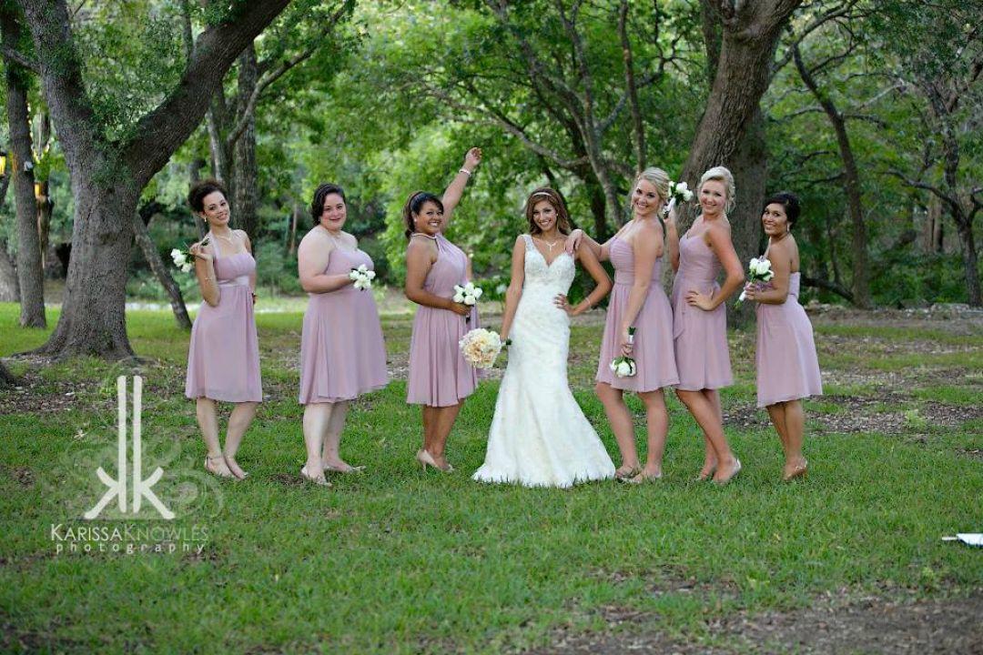 Texas Brides Maids and Bride