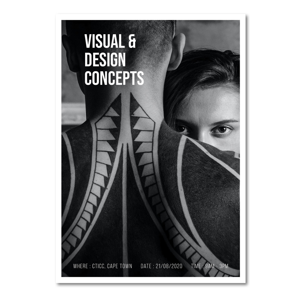 Visual & Design Course Poster Instagram
