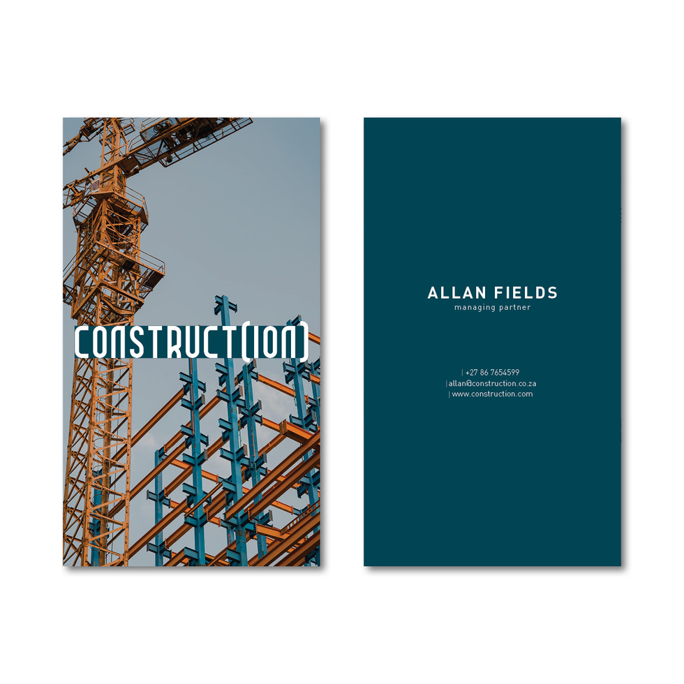 Construct(ion) Business Card Instagram P
