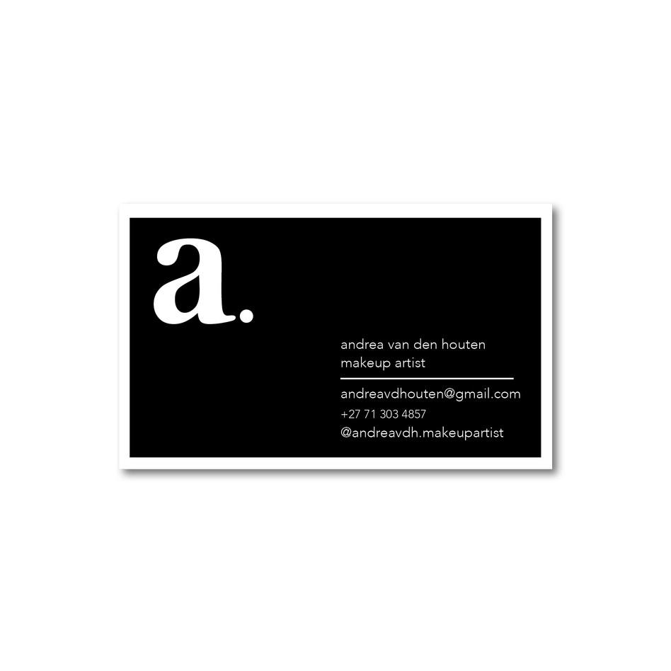 Andrea Van Den Houten Business Card Inst