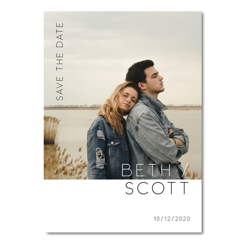 Save The Date - Beth & Scott Instagram P