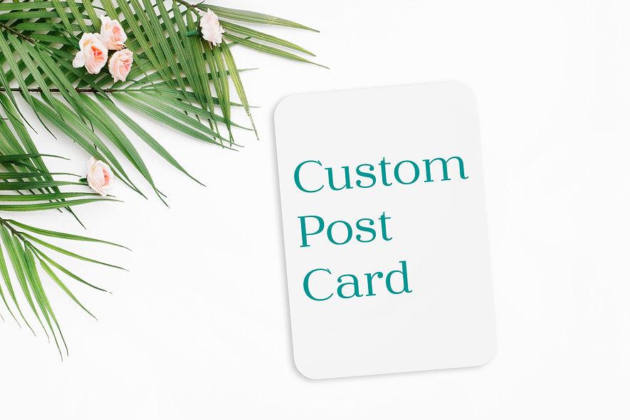 Custom Post Card