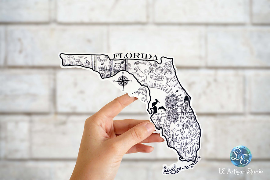 Florida State Sticker