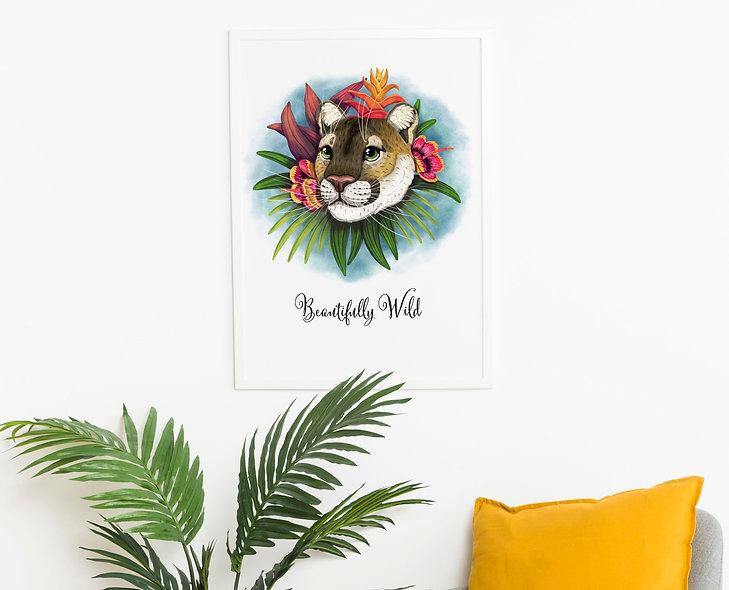 Florida Panther Print