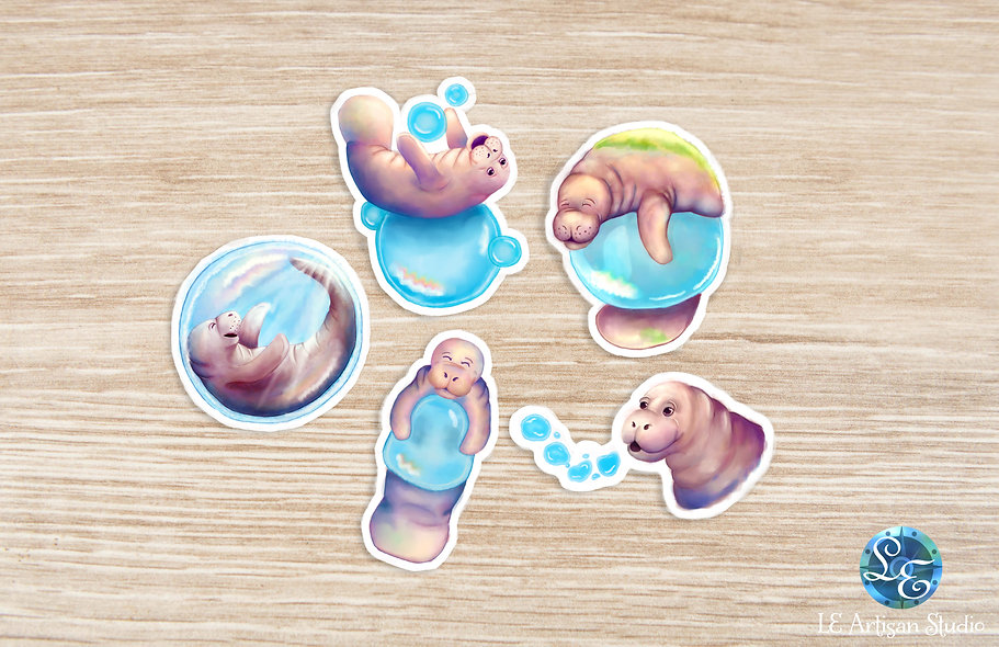 Bubble Manatee Pack