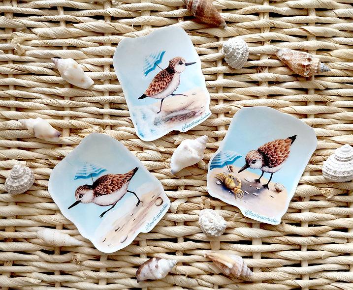 Piper Bird Stickers
