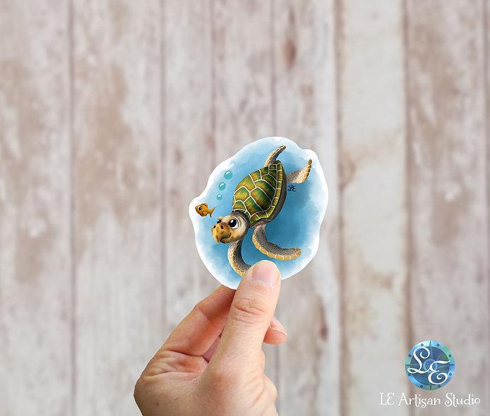 Hawksbill Sea Turtle Sticker