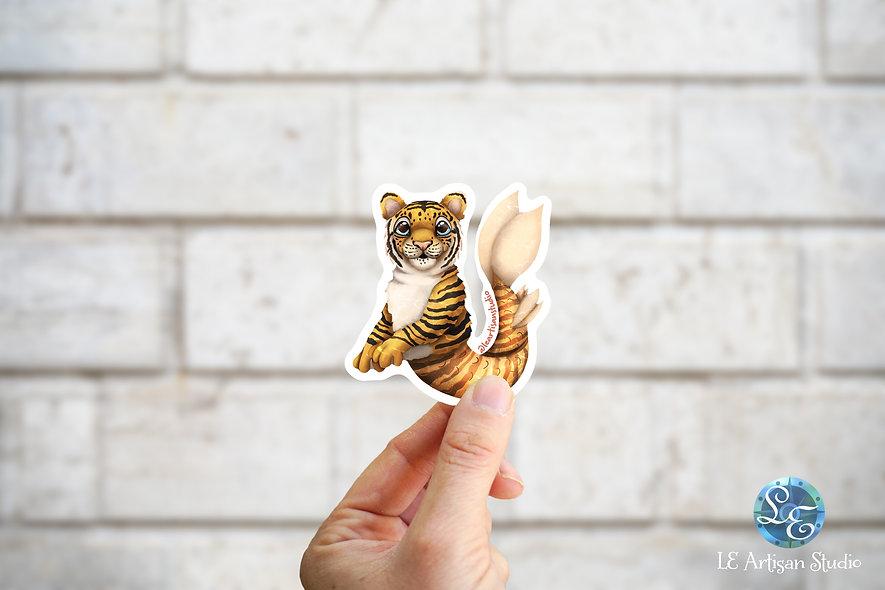 Tiger Mermaid