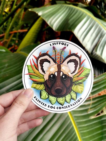 Wild Dog Sticker
