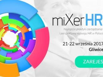 SERUM zaprasza na miXerHR w Gliwicach 21-22.09.2017