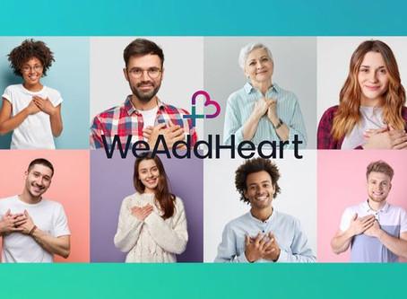 Ξεκινάμε το  «Προσθέτουμε Καρδιά» (WeAddHeart) +❤️
