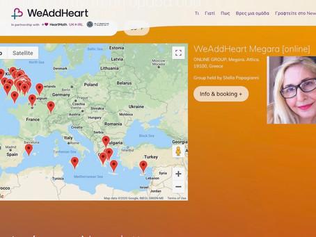 Το WeAddHeart +❤️ (Προσθέτουμε καρδιά) Συνεχίζεται
