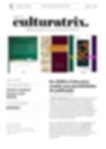 Newsletter Culturatrix. Março/2020
