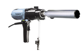 hand held core drill  with 3, 3.5, 4 and