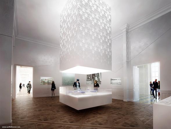 Museography, Versailles Castle