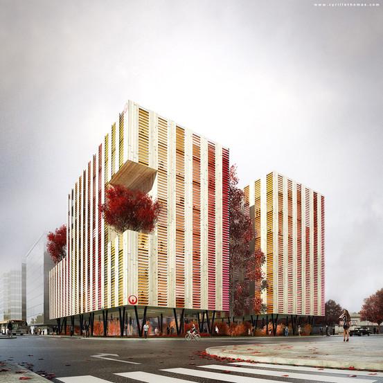 Office Building, Paris