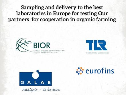 Iespēja nosūtīt paraugus uz labākajām Eiropas laboratorijām