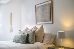 Herringbone lux bedroom