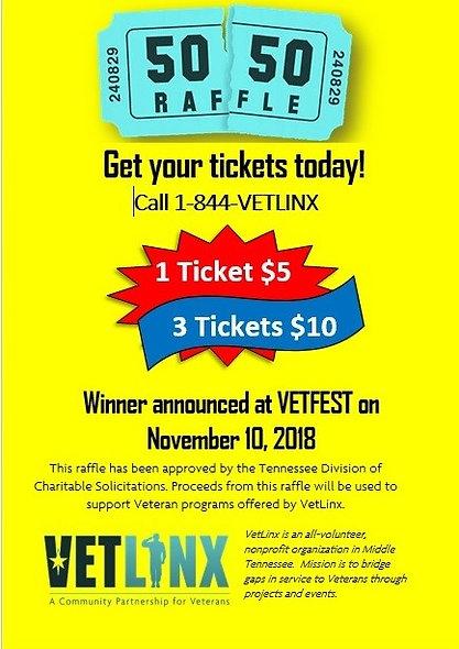 1 Raffle Ticket $5