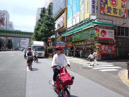 8+1 rules for the Tokyo safety ride