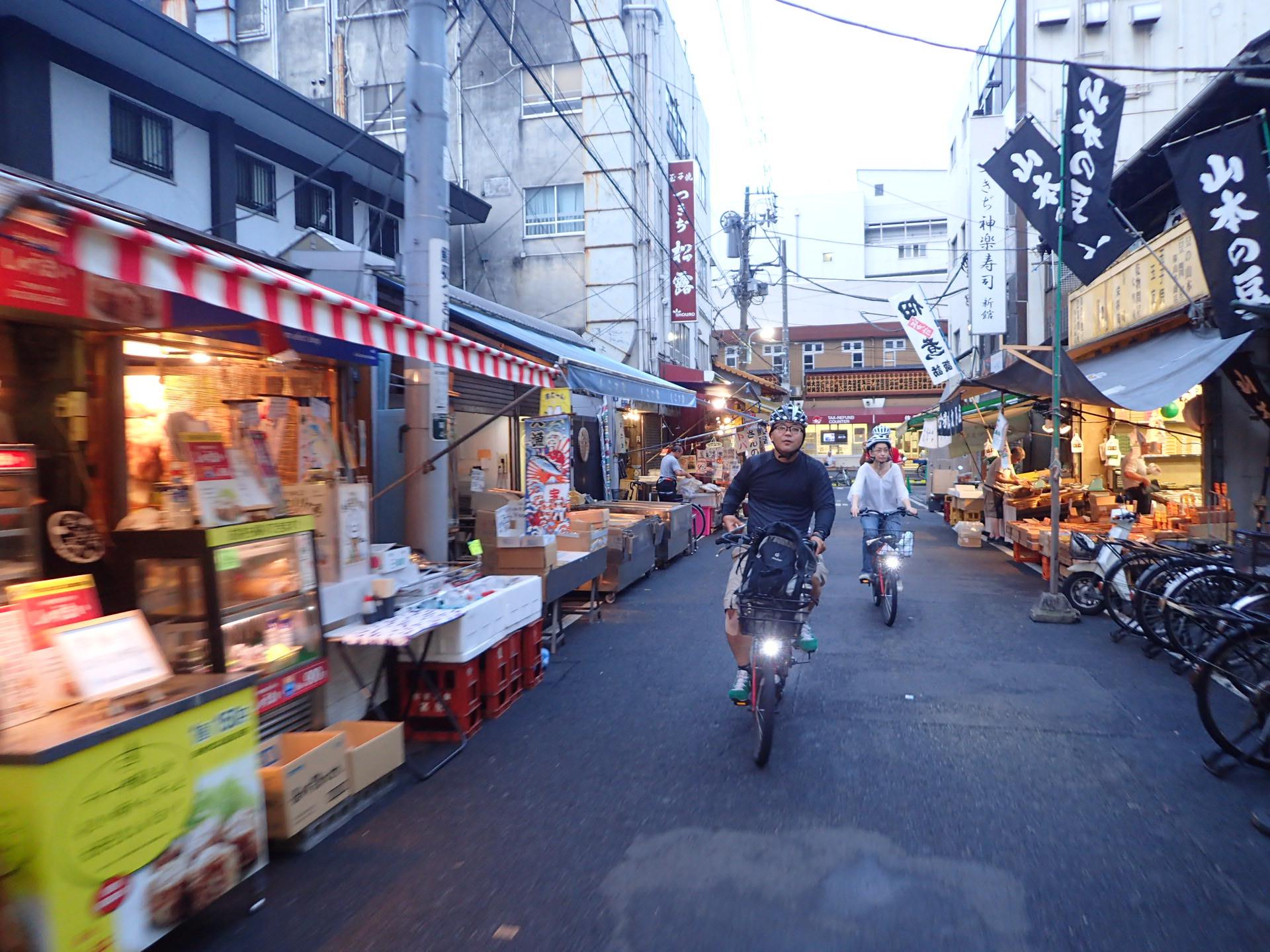 Tokyo First Timers - E-bike 3hrs AM Tour