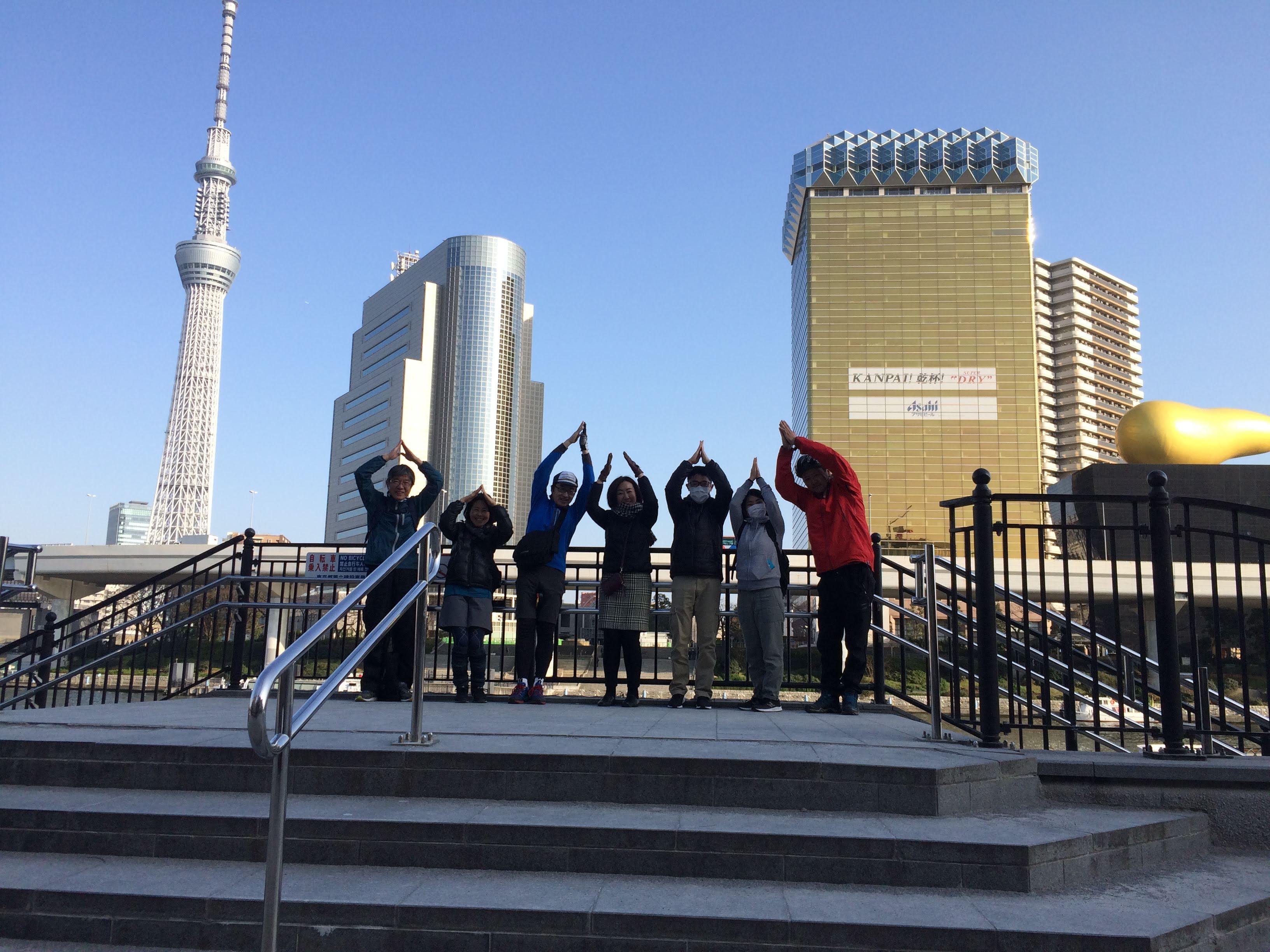 日本人英語ガイドによる  英語体験東京サイクリングツアー