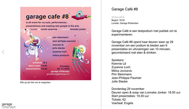Garage Cafe #8
