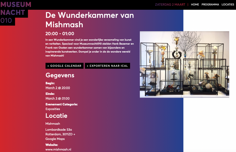 Museum Night, Rotterdam