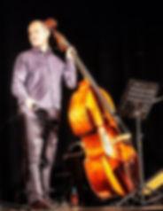 Yuri Goloubev and his double bass