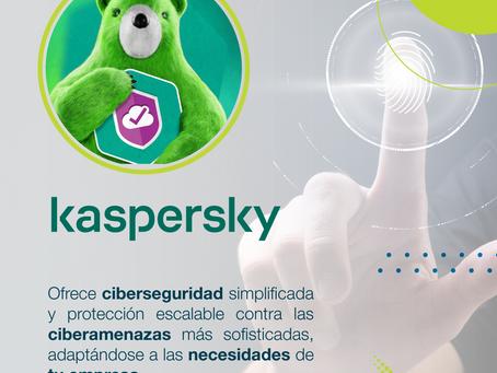 Kaspersky brinda la mejor ciberseguridad para tu compañía