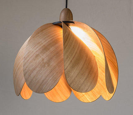 Propeller Droop Pendant Light - Tasmanian Eucalypt
