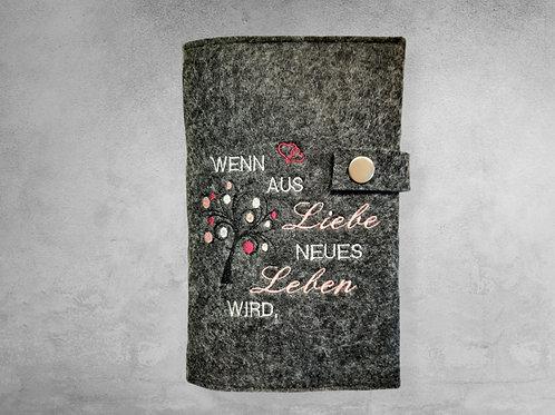 Kalender oder Mutterpass Hülle