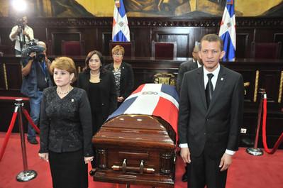 Mensaje de la honorable presidenta de la Cámara De Diputados, Licda. Lucía Medina Sánchez