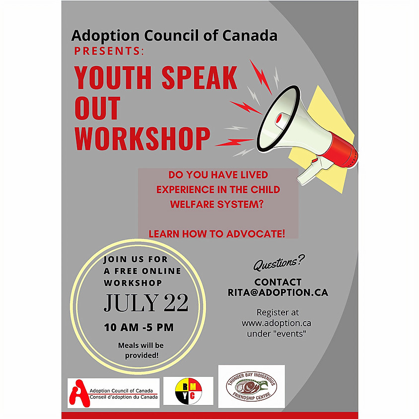 Thunderbay Youth Speak Out Workshop