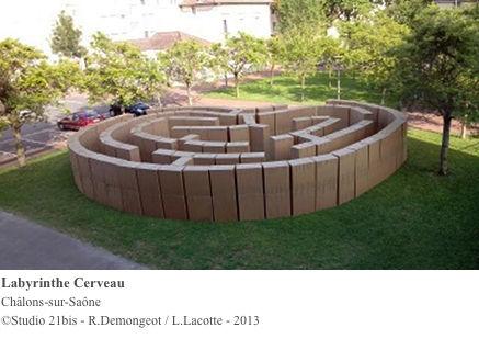 Studio Carmin - Studio 21bis - Labyrinthe Cerveau