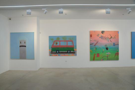 """""""Hamudi Tours""""' solo show, 2019, Hezi Cohen gallery"""