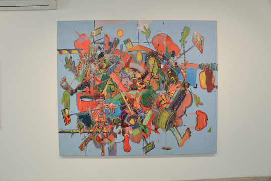 """Hamudi Tours"", Hezi Cohen gallery"