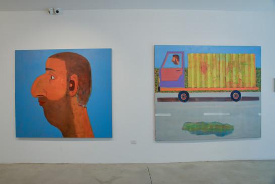 """Hamudi Tours"", 2019, Hezi Cohen gallery"