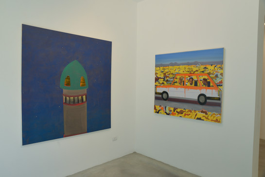 """""""Hamudi Tours"""", solo show, Hezi Cohen gallery"""