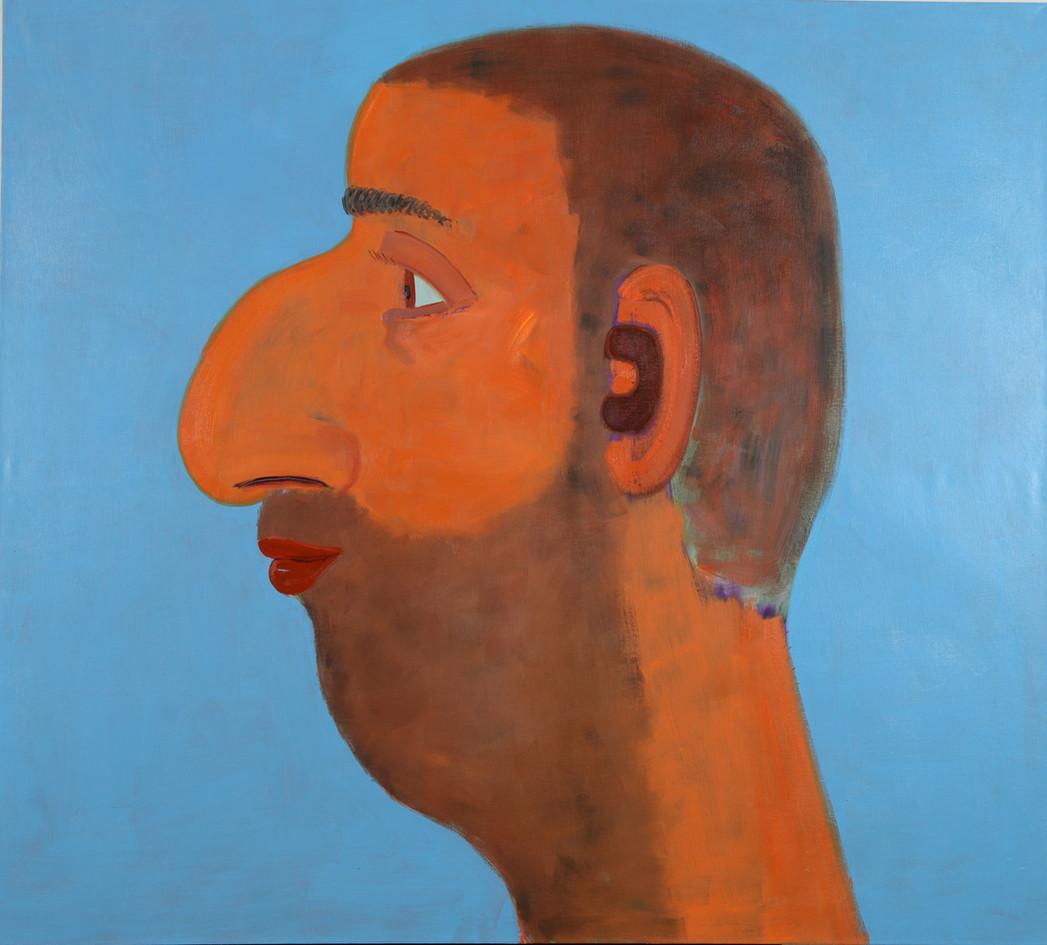 Hamudi , 2018, oil on canvas,  180x200 c