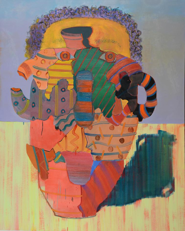Partach, 2018, oil on canvas, 200x170 cm