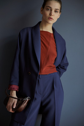 V croce blouse