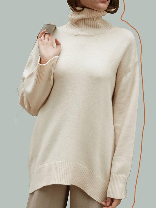 GISELE Throat Sweater