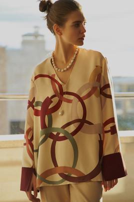 Vestiaire x Ross blouse