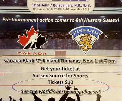 Don't forget about the U17 World Hockey Challenge